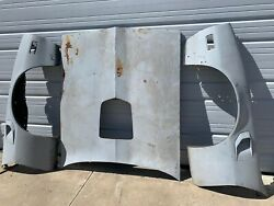 1977-1981 Pontiac Trans Am Fenders And Shaker Hood Solid Southern Panels Se Bandit