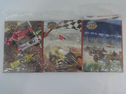 2011 Indianapolis 500 1-each Of The 3 Program Covers Sports Illustrated