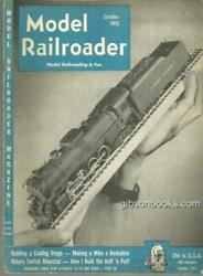 Model Railroader Magazine October 1951 Making A Mike A Bershire On The Cover