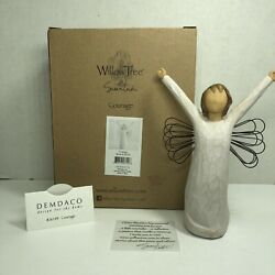 Willow Tree Courage Angel Figurine New 26149 Rare Retired Lordi Demdaco Collect
