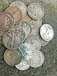 The Walking Liberty Deal All 90 Lot Us Silver Coin 2 Lb 32 Oz. 1964 One