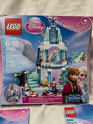 Lego 41062 Disney Frozen Elsa's Sparkling Ice Castle 100 With Box And Minifigures
