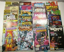 Lot 24 Mixed Comic Books Various Titles And Years Hero Spawn Mask Siren
