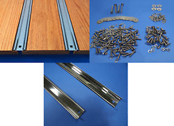 Bed Strips Kit Chevy 1967 - 1972 C10 Polished Stainless Short Stepside Wood