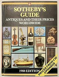 Sothebyandrsquos Guide Antiques Prices Worldwide 1988 Edition Vintage Auction Old List
