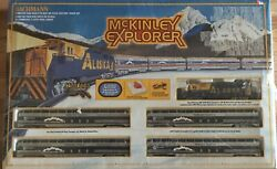 New Bachmann Ho Scale Mckinley Explorer Train With Ez Track System 00624
