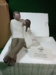 Willow Tree Father And Daughter Figure Nib
