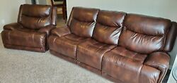 Blairstown Power Reclining Sofa And Recliner Set