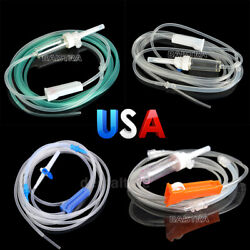 1-200x Disposable Dental Surgical Irrigation Tube Tubing Fit For Wh /nsk/nouvag