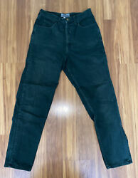 """Vintage Guess By Georges Marciano Jeans Green Pants Size 32 28"""" Waist 80's 90's"""