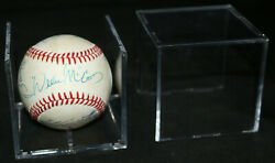 500 Equipe X6 Ernie Banks Ted Williams Signandeacute Baseball - Steven Artsis Collection