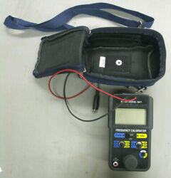 Altek Model 941 Frequency Calibrator With Soft Case - Works