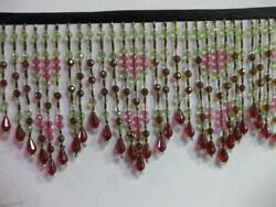 10 Yards Long Beaded Fringe ,sold By Bolt ,special For Limited Time 2