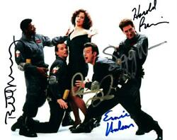 Dan Aykroyd Murray Weaver Ramis +1 Signed 8x10 Picture Autographed Photo And Coa