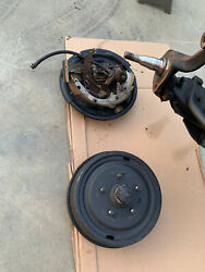 1965 And Up Impala Front Brake Backing Plates Drums And Hardware