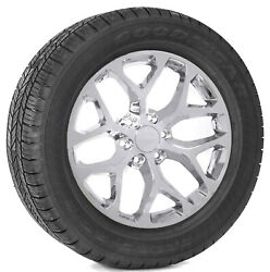 20 Snowflake Chrome Wheels And Goodyear Tires For 2019-2021 Dodge Ram 1500 6x5.5