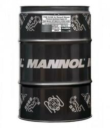 3x208l Mannol Oem Fully Synthetic Engine Oil 5w40 For Renault Nissan A3/b4 Sn/cf