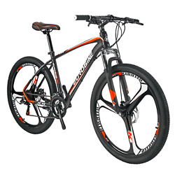 Aluminium Frame Mountain Bike 21 Speed Mens Bicycle 27.5 Front Suspension