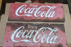 Vintage Coca - Cola Signs Cutouts - Soda Pepe Thermometer Squirt 7-up Rc Pepper