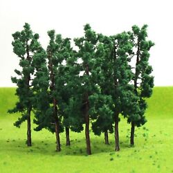 Evemodel D8030 20pcs O Scale Model Train Layout Iron Wire Trees 80mm Railroad...