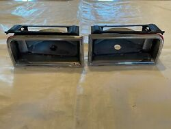 1965 Oldsmobile Cutlass Chrome Tail Lights Hurst Olds Taillights Housing Bracket