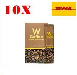 10x W Coffee Wink White Weight Loss Natural Slimming Instant Drink Lost Burn Fat