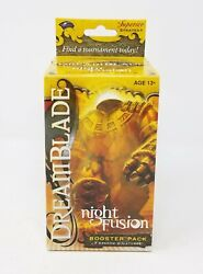 Dreamblade Night Fusion Booster Pack Rare Sealed 7 Prepainted Miniatures