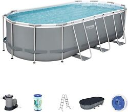 Bestway 18and039x9and039x48 Rectangular Above Ground Pool