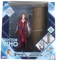 Doctor Who Castrovalva Fifth 5th Dr W Masterand039s Tardis Action Figure Set New Misb