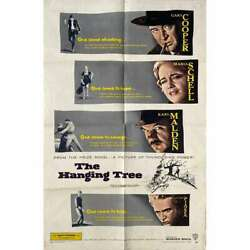 The Hanging Tree Original Movie Poster - 27x41 In. - 1959 - Delmer Daves Gary