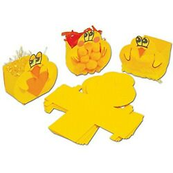 Springboard 10259 Easter Chick Boxes Craft Construction Activity Pack Of 30