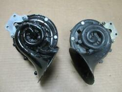 Auto-lite Hw Hi And Lo Note Horns Nos Working Ford Lincoln Mercury Mopar 40s 50s