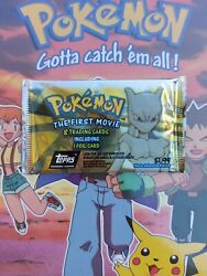 Pokemon - The First Movie Trading Cards Animation Edition - Topps Sealed