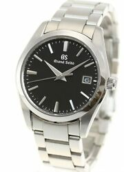 Seiko Grand Seiko Sbgx261 Black Dial Men's Watch New In Box From Japan