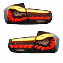 Oled Sequential Tail Lights Rear Lamps For 2012-2018 Bmw 3 Series M3 F30 F35 F80