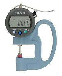 Teclock Smd565jl Digital Thickness Gauge Measuring/0-12mm From Japan New