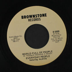 Everyday People Welt Voll Von People / Iand039d Like Zu Stay Brownstone Records 5