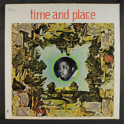 Lee Moses Time And Place Andeacuterable Records 12 Lp 33 Rpm