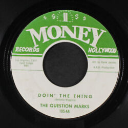Question Marques Doinand039 The Thing / Ainand039t Que Kinda Sad Money Records 2 17.8cm