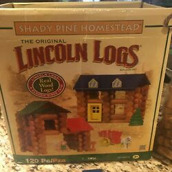 Lincoln Logs Shady Pine Homestead Building Set With Extra Pieces