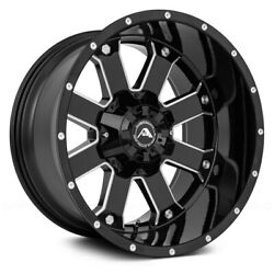 American Off-road A108 Wheel 20x10 -24 5x150 110.3 Black Single Rim