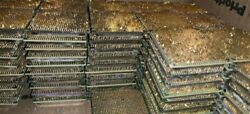 8lb+ Of Scrap Gold Pinned Cpu Processors For 24k Gold Precious Metals Recovery
