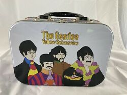 beatles Yellow Submarine Lunchbox No Thermos Display Only Lid Is Detached