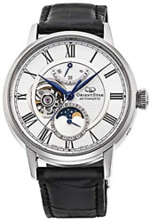 Orient Star Rk-ay0101s Automatic Mechanical 22 Jewels Moon Phase Men`s Watch New