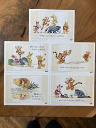 Lego - All 5 Winnie The Pooh Vip Limited Edition Sketches