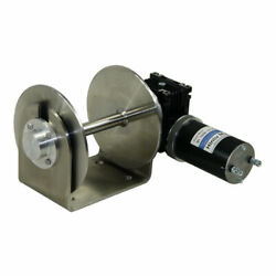 12v 1000w 316 Stainless Steel Drum Anchor Winch Marine Fishing Boat Yacht M2