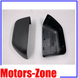 For 15-17 Ford F150 Towing Mirror Text Black Cover Skull Caps 2015 2016 2017