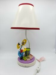 Homer Simpson Nuclear Waste- Collectible Accent Table Lamp - Cordelia Lighting