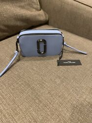 The Marc Jacobs Dreamy Blue Camera Crossbody NEW $190.00