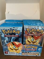 Pokemon Black And White Noble Victories Booster Pack Lot 29 Packs, Box Unweighed